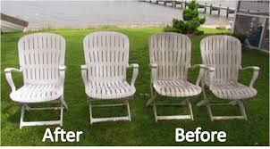 Clean Patio Furniture