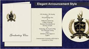 Bellarmine University Graduation Announcements Bellarmine