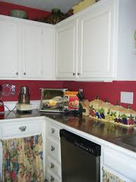 Kitchen Cabinets Painted Red Painting Your Kitchen Cabinets Painting Tips From The Pros 15