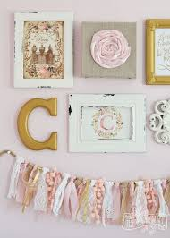 stylish pink wall decor home decorating ideas attractive design also