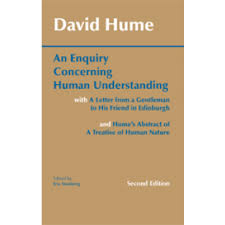 philosophy an enquiry concerning human understanding second edition david hume