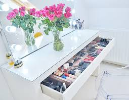 best makeup vanity ikea malm dressing table