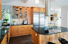 stylish english cottage kitchen style with wooden cabinetry