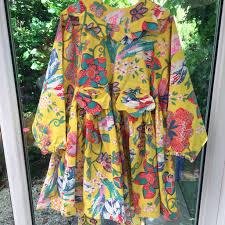 Vintage Floral Oilily Summer Dress Dutch Designer Depop