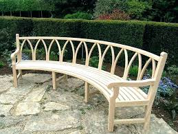curved outdoor bench seating benches inside designs 2