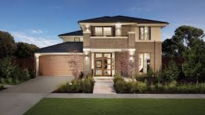 elegant design home. Awesome Elegant Design Of The Inter Locking Bricks Houses Images Can Be Decor With Brown Garage Door Add Beauty Inside Modern Lighting Home A