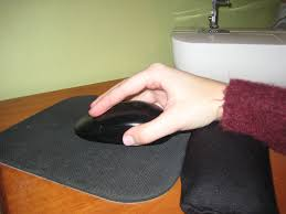 picture of mouse pad wrist rest