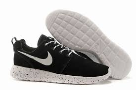 nike running shoes for girls black and white. cheap nike running trainers uk | girls roshe run id suede black white shoes for and