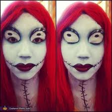 sally from nightmare before costume photo