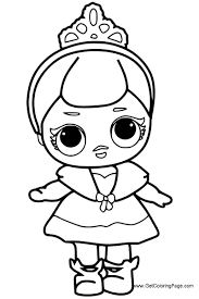Free Printable Lol Dolls Coloring Pages Get Coloring Page