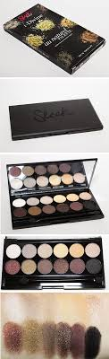 so i bought a few sleek makeup palettes 5 total the first one i will show you all is the au naturel palette i know this look anything