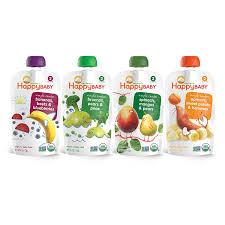 Happy Baby <b>Organic Stage 2</b> Baby Food <b>Simple</b> Combos Variety ...