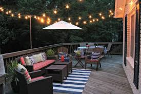 deck rope lighting ideas with overhead deck lighting