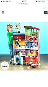kidkraft heroes playset everyday heroes hometown doll houses for boys house wooden kidkraft hometown heroes wooden playset assembly instructions