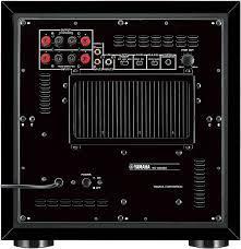 Yamaha NS-SW300 subwoofer - 1.0 - black : Amazon.co.uk: Electronics & Photo