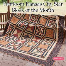 145 best Block of the Month images on Pinterest | Quilting, Quilt ... & Heirloom Kansas City Star Block of the Month - Fat Quarter Shop Adamdwight.com