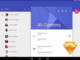 Android L. Material Design Sketch freebie - Download free resource ...