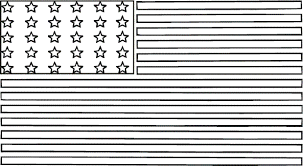 Small Picture American Flag Coloring Sheet Bebo Pandco