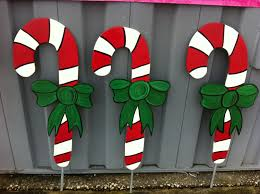 Large Candy Cane Decorations Terrific Outdoor Christmas Candy Cane Decorations Super Large 15