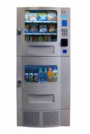 Compact Combination Vending Machine Extraordinary Snak Mart SM48 Silver Combo Vending Machines Snack And Soda Combo