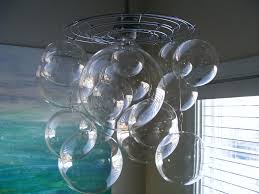 extraordinary bubble light chandelier bubble chandelier diy wall painting white wall astounding bubble