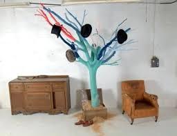 Build Your Own Coat Rack diy tree branch coat rack cityofhopeco 70