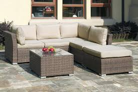 patio conversation sets sofa furniture outdoor table amazing sectional canada