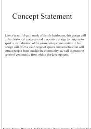 concept statement interior design. Interior Design Statement Exle The Artists Infill Concept S