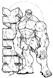 Small Picture The Incredible Hulk Coloring Pages Apigramcom