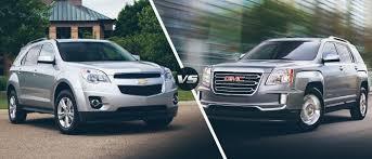 The 2016 Chevy Equinox vs. 2016 GMC Terrain - McCluskey Chevrolet