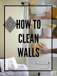 how to clean walls before starting to paint washing walls prior to applying paint is