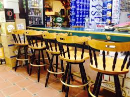 Refinished mercial Bar Stools missioned