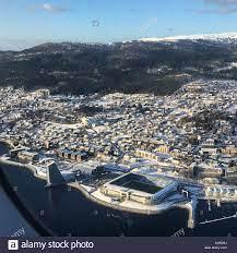 Luftaufnahme von molde Stadt in Norwegen Stockfotografie - Alamy