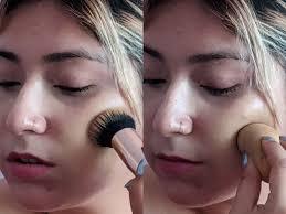 makeup sponge vs brush which one