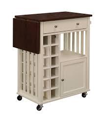 Crosley Furniture Kitchen Cart Kitchen Cart With Drop Leaf Crowdsmachinecom