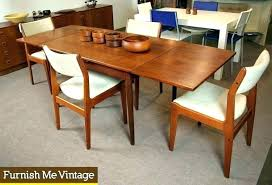 danish modern dining table and chairs mid century modern round mid century danish dining table and