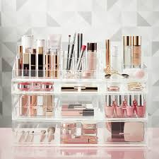 Luxe Acrylic Large Makeup & Nail Polish Storage ...