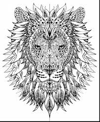 Small Picture astounding lion adult coloring pages printables with intricate