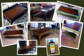Old Coffee Table Makeovers Coffee Table Makeover Escape And Create