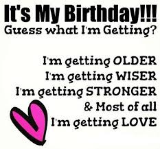 My Birthday Quotes For Myself Enchanting Birthday Wishes For Myself WishesGreeting