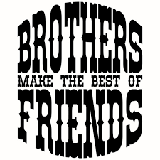 Image result for pictures of brothers as friends