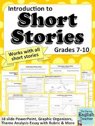best high school story ideas short stories for short stories a common core mini unit for any short story