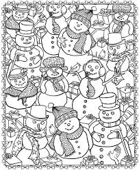 Christmas coloring pages for kids & adults to color in and celebrate all things christmas, from santa to snowmen to festive holiday scenes! 21 Christmas Printable Coloring Pages Everythingetsy Com