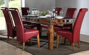 dining room chairs leather.  Chairs Leather Chairs For Dining Table Room Sets    On Dining Room Chairs Leather E