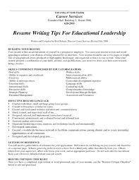 Resume Writing Advice Resume For Study