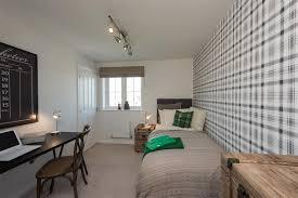 Single Bedroom. Typical Langdale Home