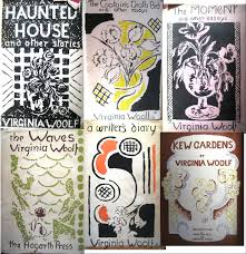 william butler yeats erich alport collection montage of vanessa bell s cover designs for virginia woolf s texts