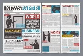 1960s Newspaper Template Newspaper Vectors Photos And Psd Files Free Download