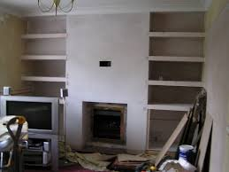 how to build shelves next fireplace with built ins on one side around ideas bookshelves each surround cabinets in photos inspirations emailwear