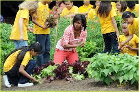 White House Kitchen Garden Michelle Obama White House Kitchen Garden 03 Technically Running